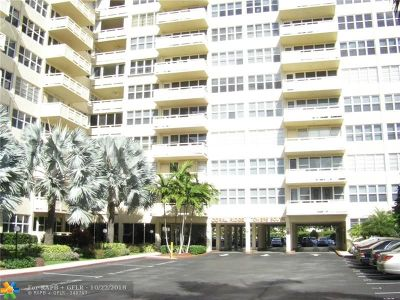 Fort Lauderdale Condo/Townhouse For Sale: 3333 NE 34th St #1703