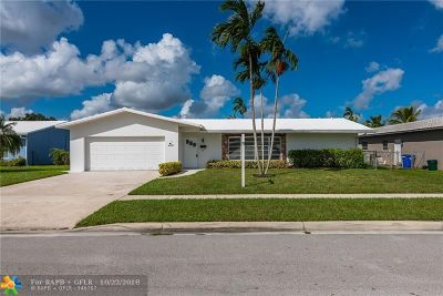 Margate Single Family Home For Sale: 6701 NW 21 Street