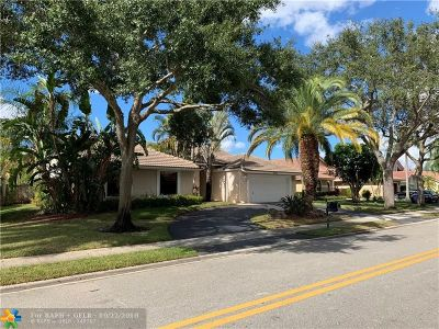 Coral Springs FL Single Family Home For Sale: $459,000