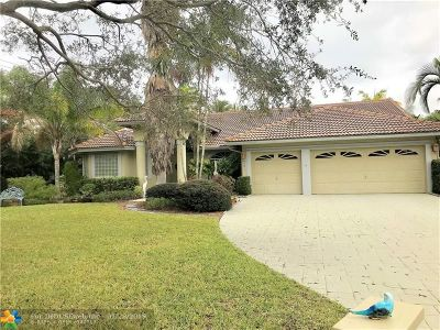 Coral Springs Single Family Home For Sale: 9701 NW 52 Manor