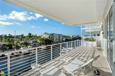 Fort Lauderdale Condo/Townhouse For Sale: 151 Isle Of Venice Dr #4B