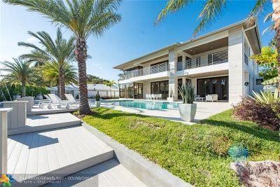 Coral Ridge Single Family Home For Sale: 2808 NE 26th Pl
