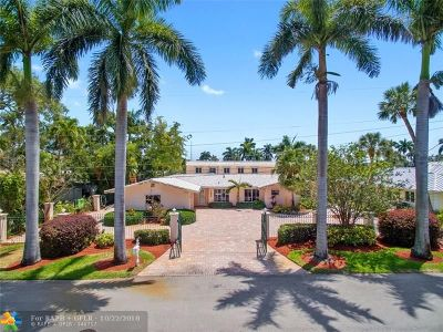 Fort Lauderdale Single Family Home For Sale: 1300 SW 14th Ave