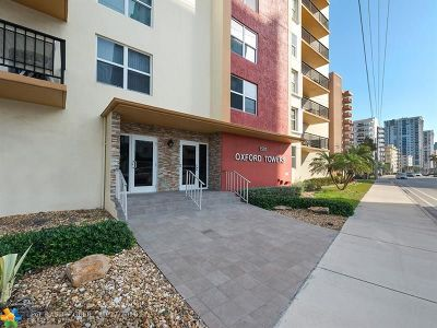 Hollywood Condo/Townhouse For Sale: 1501 S Ocean Dr #806