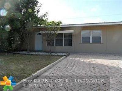 Pompano Beach Single Family Home For Sale: 2711 NE 11th Ave