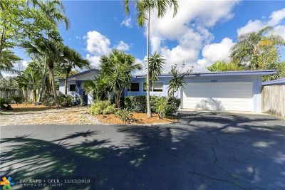 Oakland Park Single Family Home For Sale: 4031 NE 16th Ave