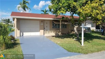 Tamarac Single Family Home For Sale: 4111 NW 47th Ct