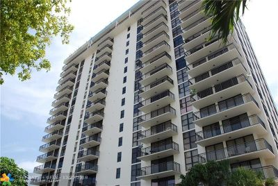 Condo/Townhouse For Sale: 3031 N Ocean Blvd #1006