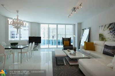 Hollywood Condo/Townhouse For Sale: 2711 S Ocean Dr #506