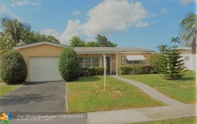 Lauderdale Lakes Single Family Home Backup Contract-Call LA: 4765 NW 41st Pl