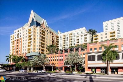 Fort Lauderdale Condo/Townhouse For Sale: 110 N Federal Hy #803