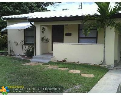 Fort Lauderdale Single Family Home Backup Contract-Call LA: 1108 NE 16th St