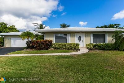 Pompano Beach Single Family Home For Sale: 1431 S Ocean Blvd. #92
