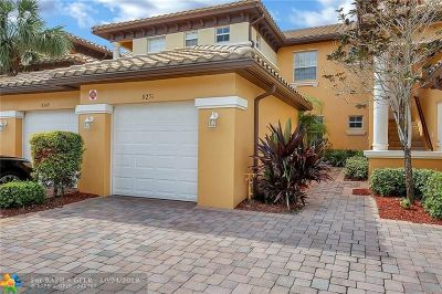 Broward County Condo/Townhouse Backup Contract-Call LA: 8251 NW 128th Ln #19-B