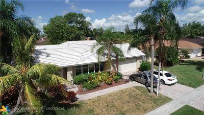 Plantation Single Family Home For Sale: 161 El Dorado Pkwy
