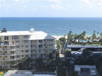 Fort Lauderdale Condo/Townhouse For Sale: 1920 S Ocean Dr #1110