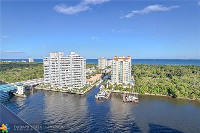 Fort Lauderdale Condo/Townhouse For Sale: 936 Intracoastal Dr #20C