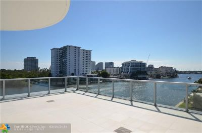 Condo/Townhouse For Sale: 920 Intracoastal Dr #503