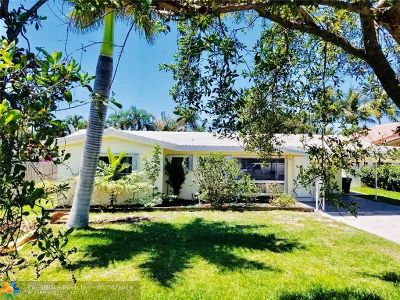 Lauderdale By The Sea Single Family Home For Sale: 258 Avalon Ave