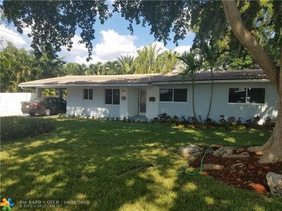 Oakland Park Single Family Home For Sale: 1311 NE 47th Ct