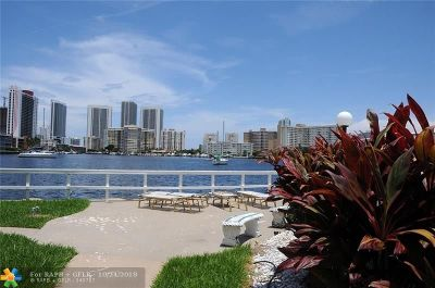 Hallandale Condo/Townhouse For Sale: 450 Golden Isles Dr #1-F