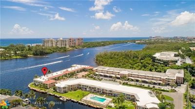 Boca Raton Condo/Townhouse For Sale: 711 NE Harbour Ter #404
