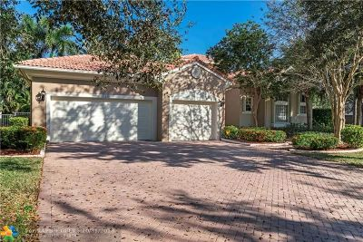 Coral Springs Single Family Home For Sale: 12311 NW 7th Ct