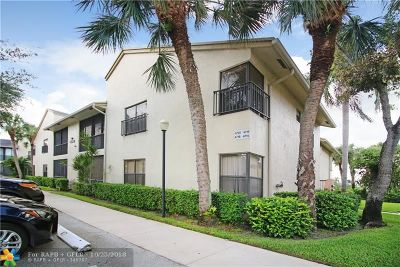 Coconut Creek Condo/Townhouse For Sale: 4715 NW 22nd St #4265