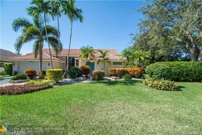 Coral Springs Single Family Home Backup Contract-Call LA: 9740 NW 48th Dr