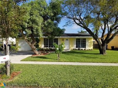 Sunrise Single Family Home For Sale: 11351 NW 31st St