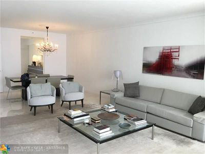Fort Lauderdale Condo/Townhouse For Sale: 3200 N Ocean #2403