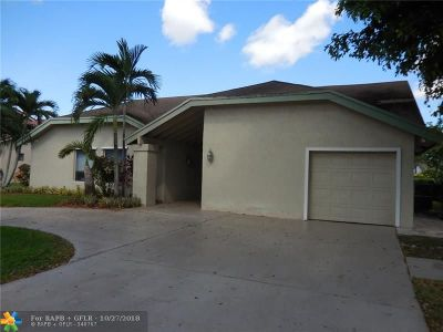 Plantation Single Family Home For Sale: 9621 NW 16th St