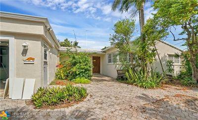 Fort Lauderdale Single Family Home For Sale: 1009 S Mandarin Isle