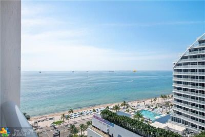 Fort Lauderdale Condo/Townhouse For Sale: 505 N Fort Lauderdale Beach Blvd #1605