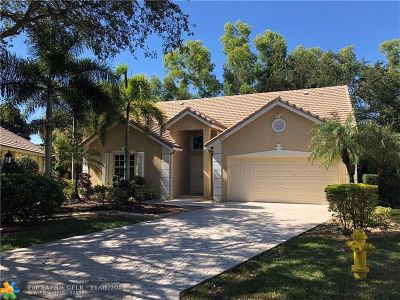Coral Springs Single Family Home For Sale: 12721 NW 19th Mnr