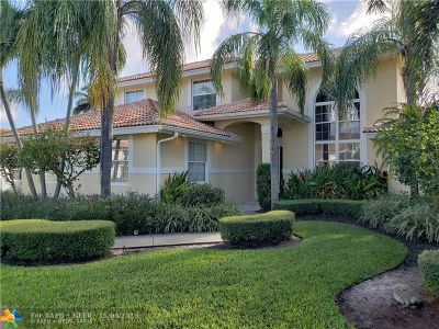 Boca Raton Single Family Home For Sale: 7750 Fairway Trl