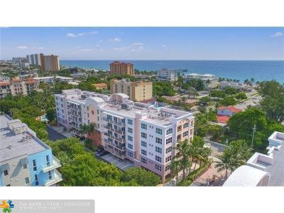 Deerfield Beach Condo/Townhouse For Sale: 191 S Ocean Dr #210