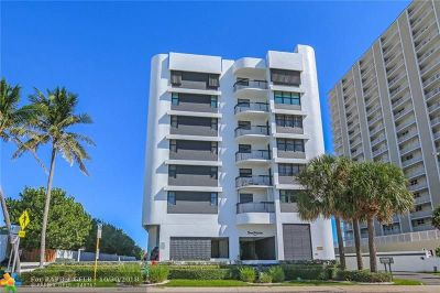 Pompano Beach Condo/Townhouse For Sale: 812 N Ocean Blvd #501