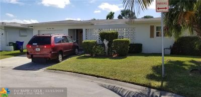Margate Single Family Home For Sale: 6880 NW 16th St