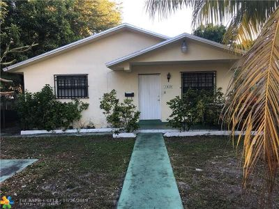 North Miami Single Family Home For Sale: 1020 NE 133rd St