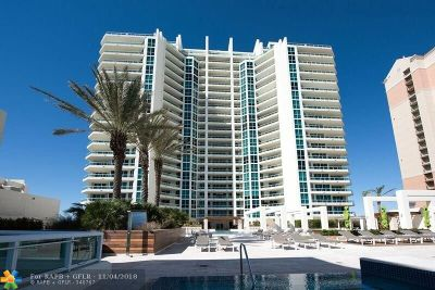 Fort Lauderdale Condo/Townhouse For Sale: 101 S Fort Lauderdale #901