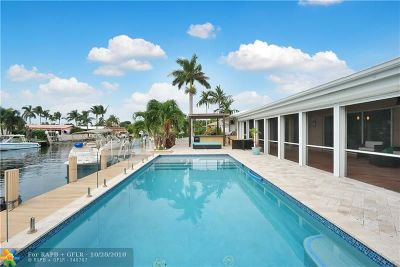Pompano Beach Single Family Home For Sale: 2740 NE 6th St