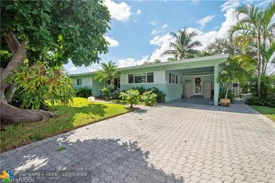Pompano Beach Single Family Home For Sale: 913 NE 26th Ave