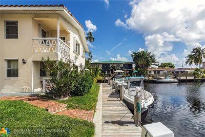 Fort Lauderdale Condo/Townhouse Backup Contract-Call LA: 2591 NE 55th Ct #209