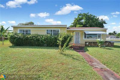 Miami Single Family Home Backup Contract-Call LA: 19740 NW 11th Ave