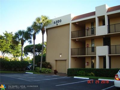 Margate Condo/Townhouse For Sale: 6306 Coral Lake Dr #106