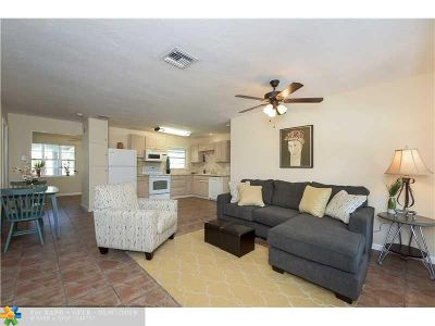 Wilton Manors Single Family Home For Sale: 625 NW 28th Ct