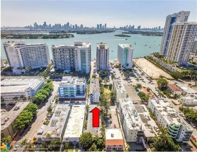 Miami Beach Condo/Townhouse For Sale: 1225 West Ave #504