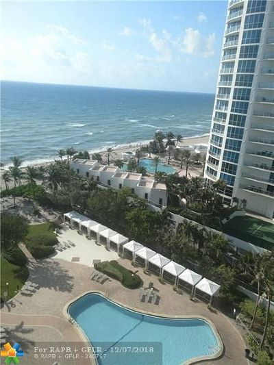 Hollywood Condo/Townhouse For Sale: 3001 S Ocean Drive #1219