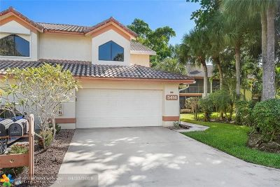 Delray Beach Condo/Townhouse For Sale: 5414 10th Fairway Dr #2